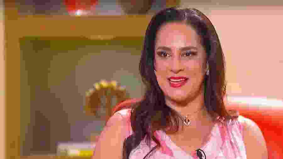 """Silvia Abravanel foi a convidada do quadro """"Com o Passar dos Anos"""", apresentado por Eliana - Reprodução/SBT"""