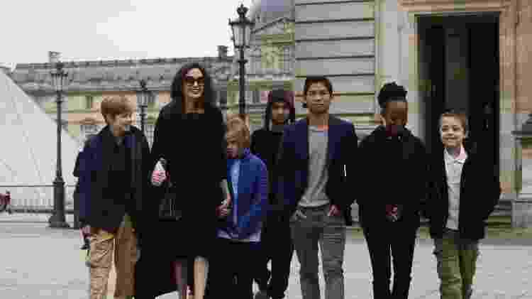 Angelina Jolie - Reprodução - Reprodução