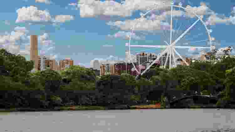 Projeto de uma roda gigante de 150 metros ao lado do Parque do Ibirapuera, em São Paulo - Divulgação - Divulgação