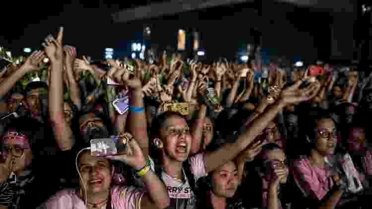 Fãs no show de Harry Styles em São Paulo - Keiny Andrade/UOL - Keiny Andrade/UOL