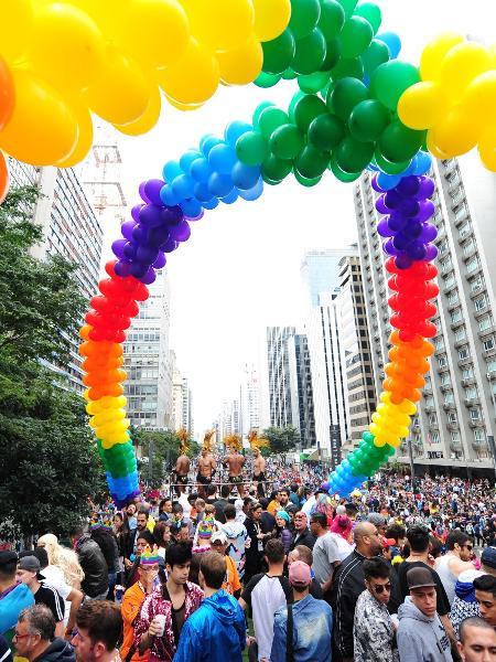 22ª Parada do Orgulho LGBTI+ de SP - Junior Lago/UOL