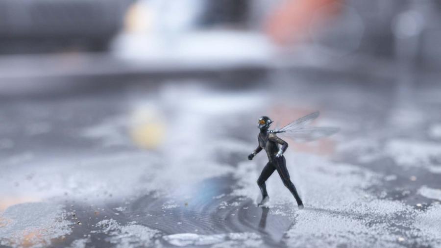 """Evangeline Lilly em cena de """"Homem-Formiga e a Vespa"""" - Marvel Studios"""