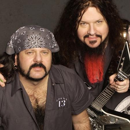 Vinnie Paul e Dimebag Darrell, ex-integrantes do Pantera - Divulgação