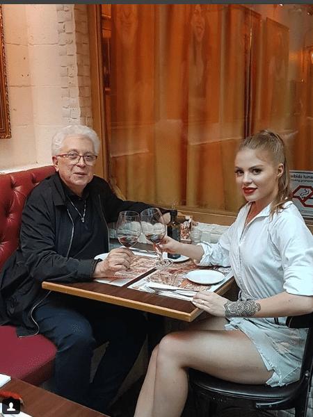 Aguinaldo Silva e Luísa Sonza - Reprodução/Instagram