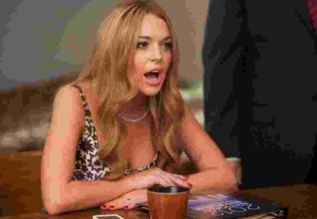 Atriz Lindsay Lohan - Divulgação