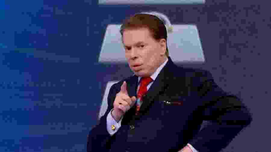 Silvio Santos jurou não saber direito o motivo de tanta badalação em cima da cantora americana Lady Gaga  - Divulgação SBT