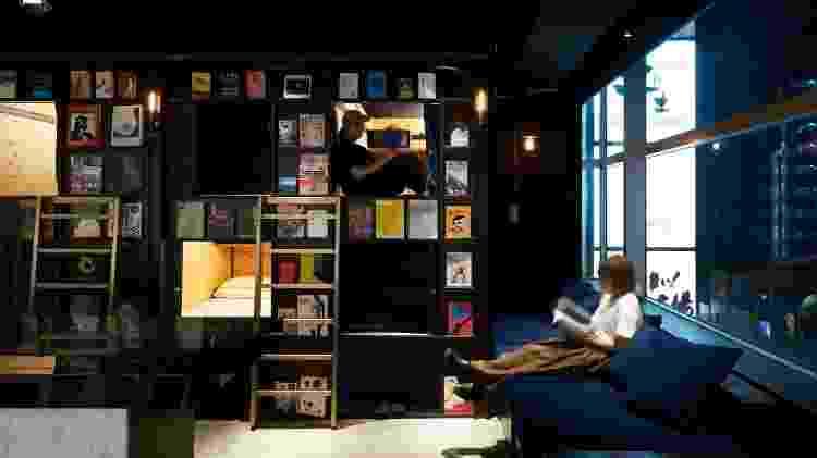 Book and Bed Tokyo - Divulgação/Book and Bed Tokyo - Divulgação/Book and Bed Tokyo