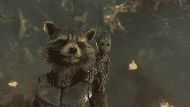 Cena de Guardiões da Galáxia, Vol. 2 - Reprodução