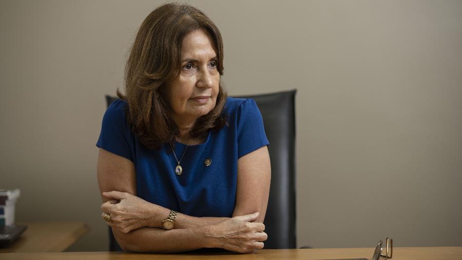 A deputada estadual Martha Rocha (PDT-RJ)  preside a CPI do Feminicídio - Ricardo Borges/UOL