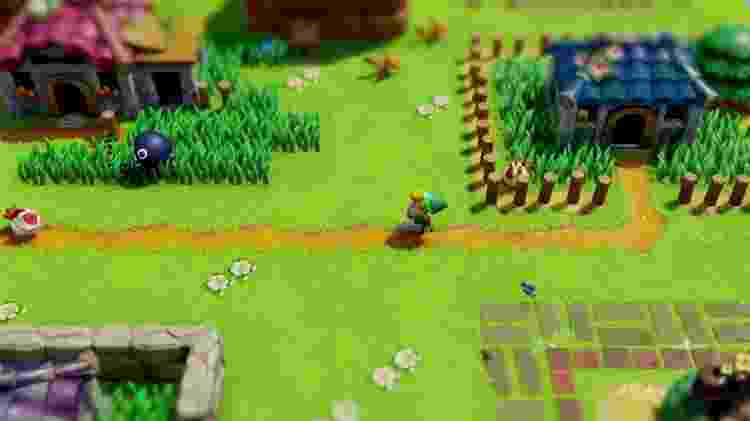 Zelda Link's Awakening - Divulgação - Divulgação
