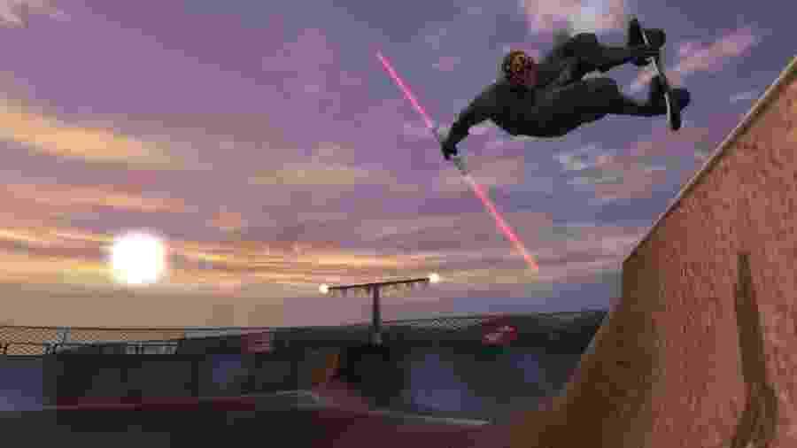 No mundo dos mods, tudo é possível -- até mesmo Darth Maul fazendo manobras com seu sabre - Divulgação/THUG Pro