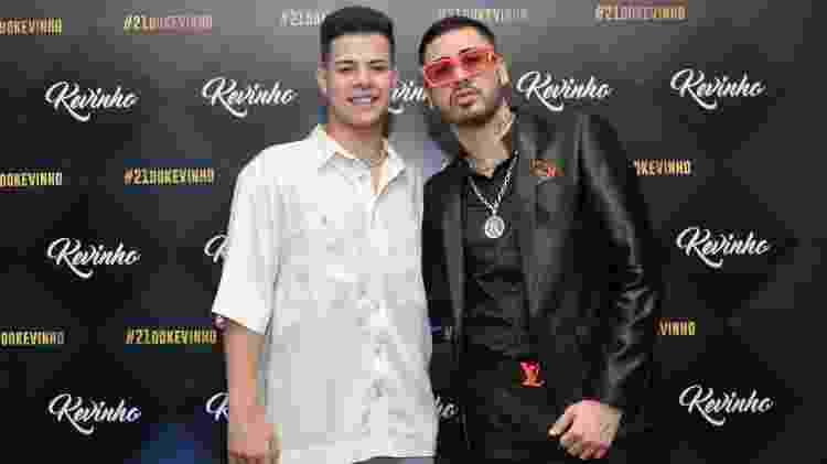 Kevinho e MC Jottapê - Samuel Chaves/Brazil News