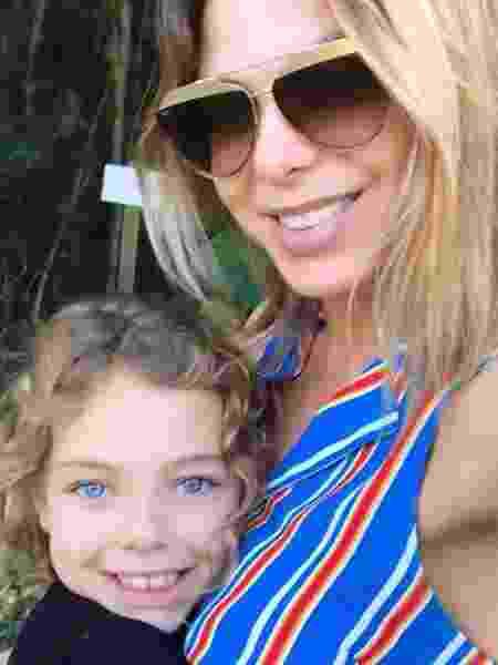 Sheila Mello com a filha, Brenda - Reprodução/Instagram