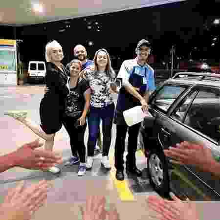 Monica Iozzi passa perrengue com carro e recebe ajuda de desconhecidos em viaduto  - REPRODUÇÃO/INSTAGRAM