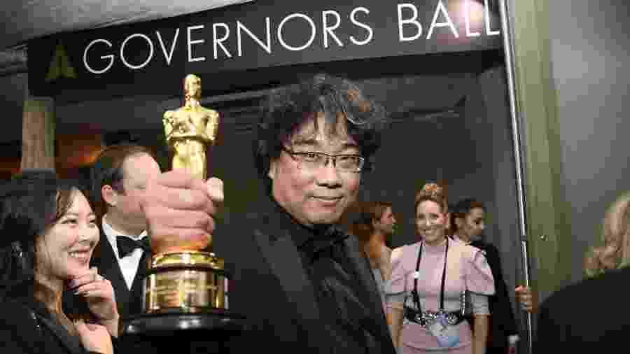 Bong Joon-ho na Governors Ball, tradicional festa pós-Oscar - Kevork Djansezian/Getty Images