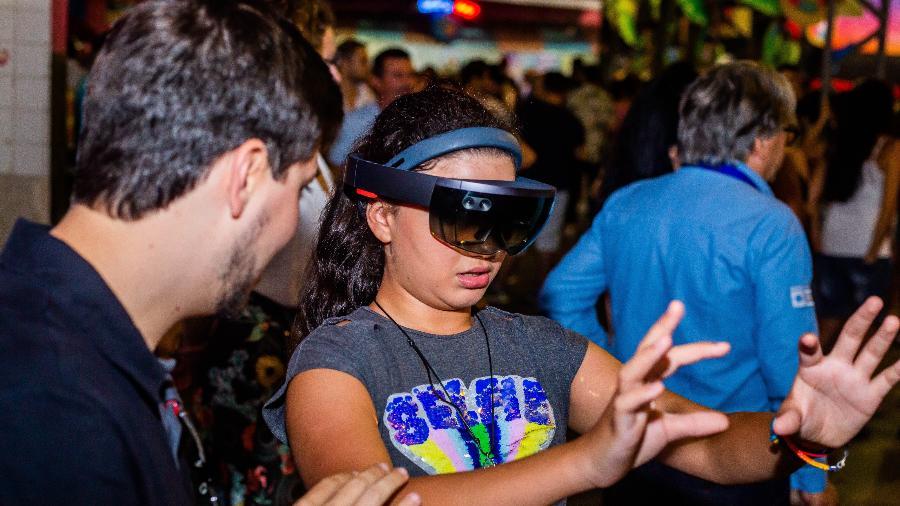 A escola de samba Rosas de Ouro vai usar inteligência artificial e realidade aumentada no Carnaval 2020 - Edson Lopes Jr/UOL