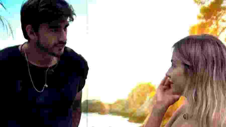 BBB 20: Gabi e Guilherme conversam antes de dormir - Reprodução/Globo