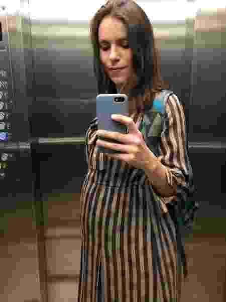 Por conta da pandemia, Maria Clara Póvia decidiu ter Gal em um hospital que é só maternidade - Arquivo Pessoal