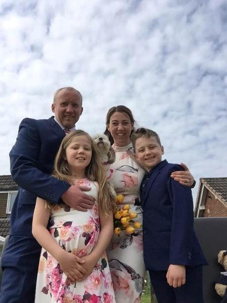 Casal ganhou casamento organizado pelos filhos durante quarentena - Reprodução/Independent