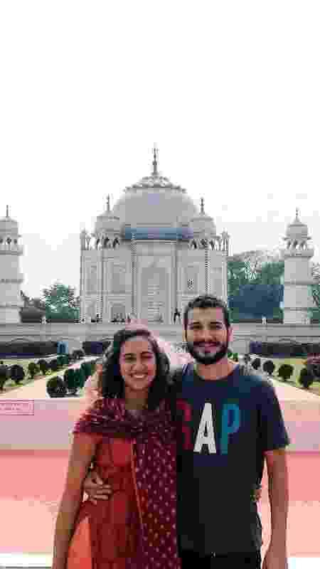 Julia e Fernando - Arquivo pessoal - Arquivo pessoal