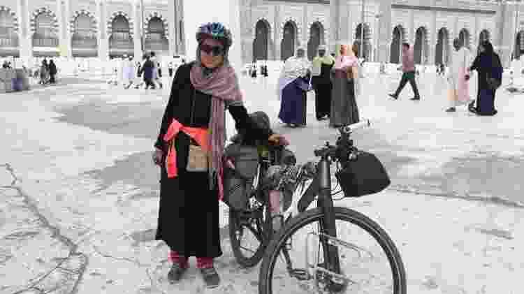Sara Haba em Meca - Arquivo pessoal - Arquivo pessoal