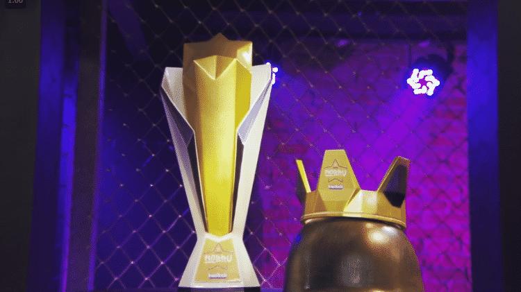 Copa Nobru Troféu - Reprodução/Twitch.tv/Nobru - Reprodução/Twitch.tv/Nobru