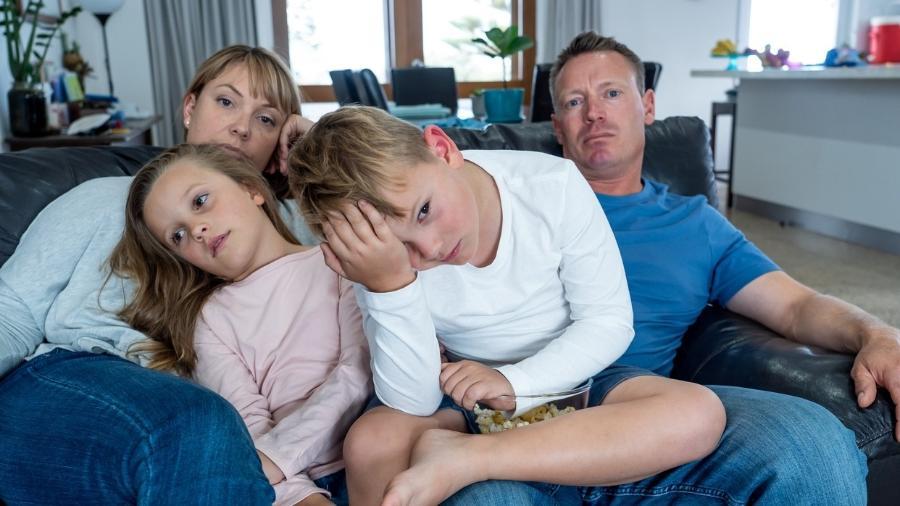 Convivência pode aumentar as brigas do casal mas é preciso cuidar como se age em frente aos filhos - sam thomas/Getty Images/iStockphoto