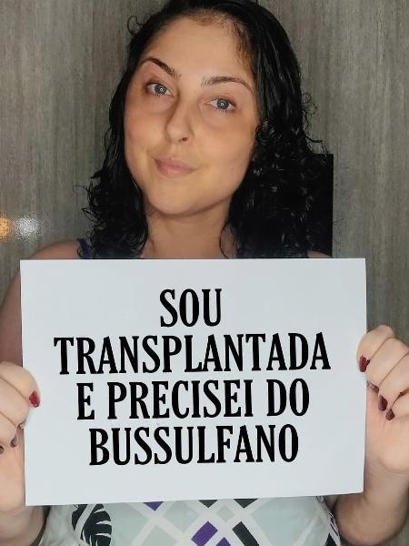 Amanda Vieira dos Santos fez uso do bussulfano e garantiu um transplante de medula óssea bem-sucedido - Arquivo pessoal
