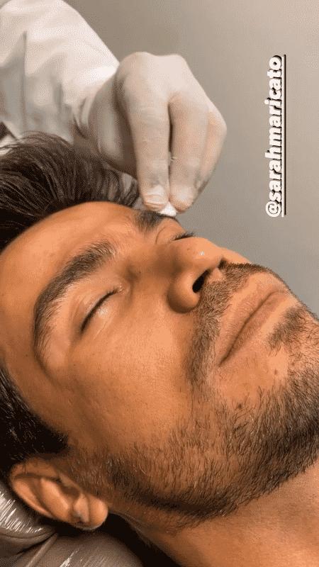 Mariano fez botox e mostrou no Instagram Stories - Reprodução/Instagram - Reprodução/Instagram