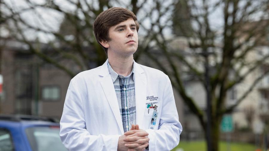 """Freddie Highmore como Shaun em """"The Good Doctor"""" - Jack Rowand/Jack Rowand/ABC/Sony Pictures Television"""