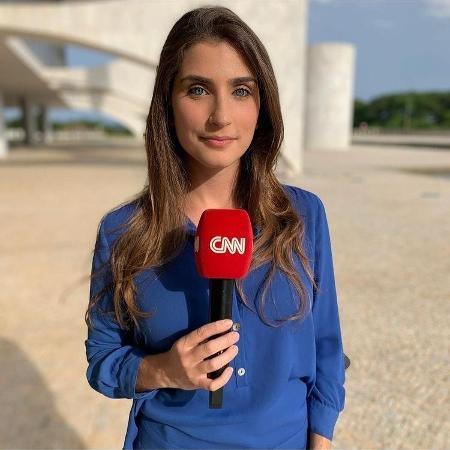 Carla Bridi, repórter da CNN Brasil - Reprodução / Instagram