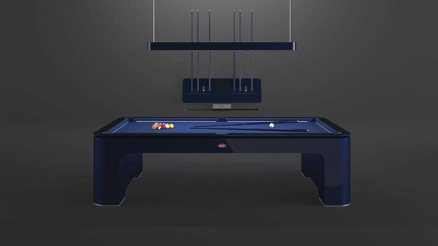 Bugatti lança mesa de bilhar - Divulgação