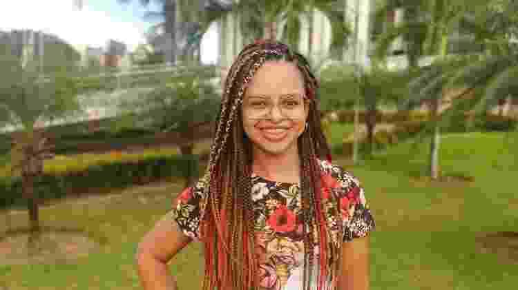 Aos 12 anos, Aline Juliete teve uma perda súbita da audição apenas do lado esquerdo - Arquivo pessoal - Arquivo pessoal