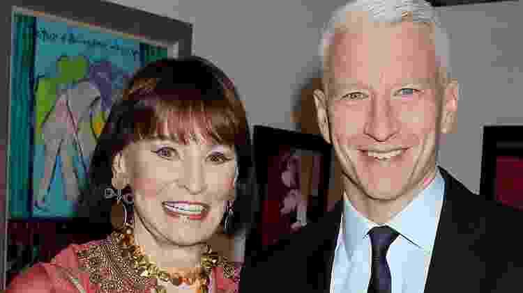 Anderson Cooper e a mãe, Gloria Vanderbilt - Reprodução/Arquivo pessoal - Reprodução/Arquivo pessoal