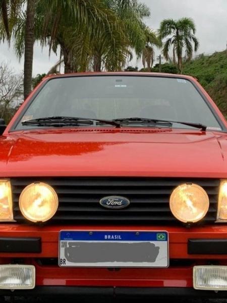 Ford Escort XR3, novo carro de William Bonner - Reprodução/Instagram