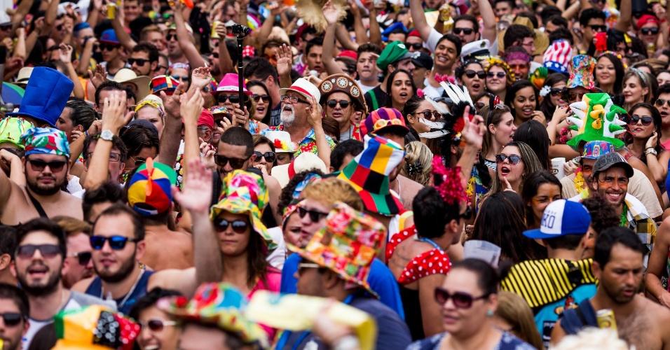 6.fev.2016 - 6.fev.2016 - Com Carnaval alegre e colorido, São Luiz do Paraitinga espera atrair 150 mil turistas para pular as marchinhas características da cidade