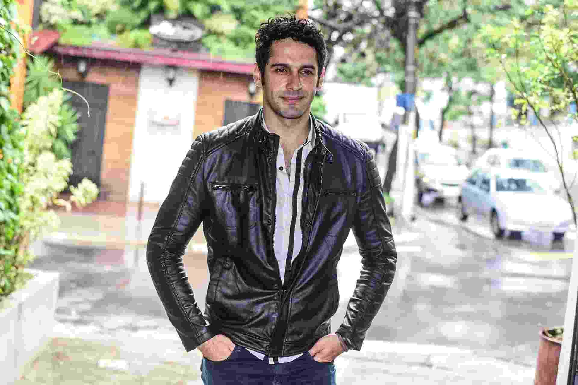 """1.mar.2016-  João Baldasserini interpreta o vilão Beto em """"Haja Coração"""", próxima novela das sete - Ag.News"""
