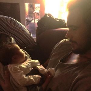 Bruno Ferrari e o filho, Antônio - Reprodução/Instagram/palomaduarteoficial