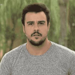 Joaquim acompanha matéria sobre filha de ex-mulher - Reprodução/TV Globo