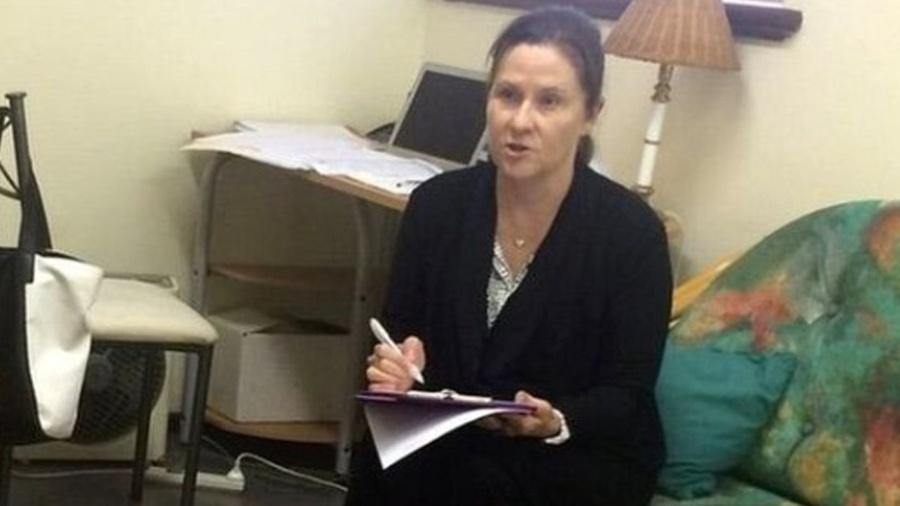 A psicóloga australiana Erin Sweeny  - Reprodução/BBC