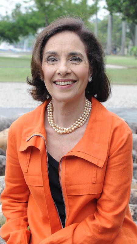 A apresentadora Vera Barroso - Divulgação/TV Brasil