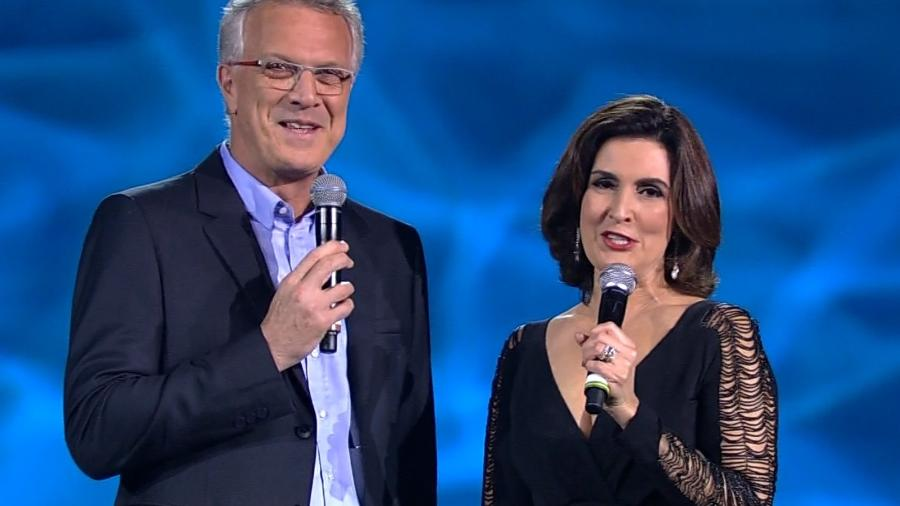 Pode isso, Bial? A vida de Fátima Bernardes é tão agitada que todo mundo gosta de dar uma espiadinha - Divulgação/TV Globo