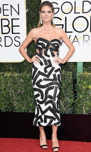 Globo de Ouro 2017: Heidi Klum