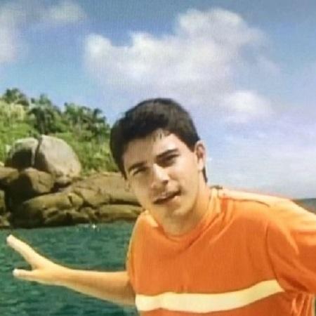 """Evaristo Costa foi repórter do """"Mais Você"""" entre 1999 e 2001 - Reprodução/Instagram/evaristocostaoficial"""