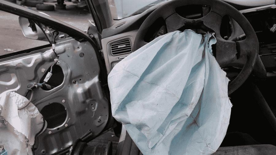 Airbags Takata - Joe Raedle/AFP - 21.5.2015