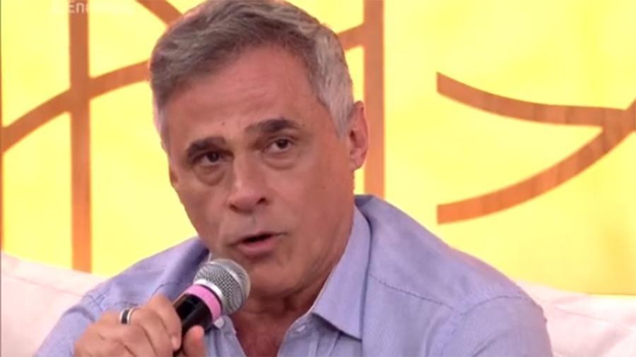 """Oscar Magrini no """"Encontro com Fátima"""" - Reprodução/Globo"""