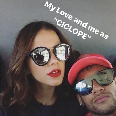 Neymar e Bruna Marquezine em Los Angeles - Reprodução/Instagram