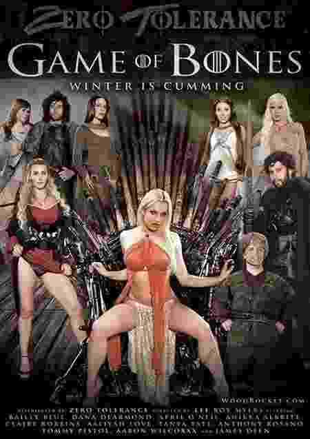 """NNão há limites para a criatividade! Nesta paródia, a série """"Game of Thrones"""" se tornou """"Game of Bones - O inverno é um orgasmo"""" - Reprodução"""