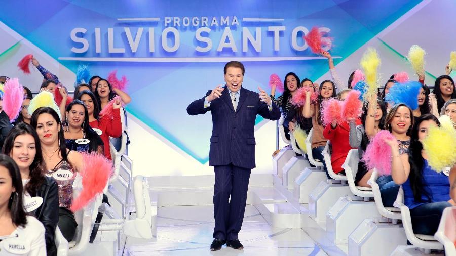 Silvio Santos em seu programa dominical - Lourival Ribeiro/SBT