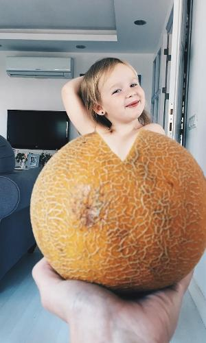 A ideia do melão também foi boa